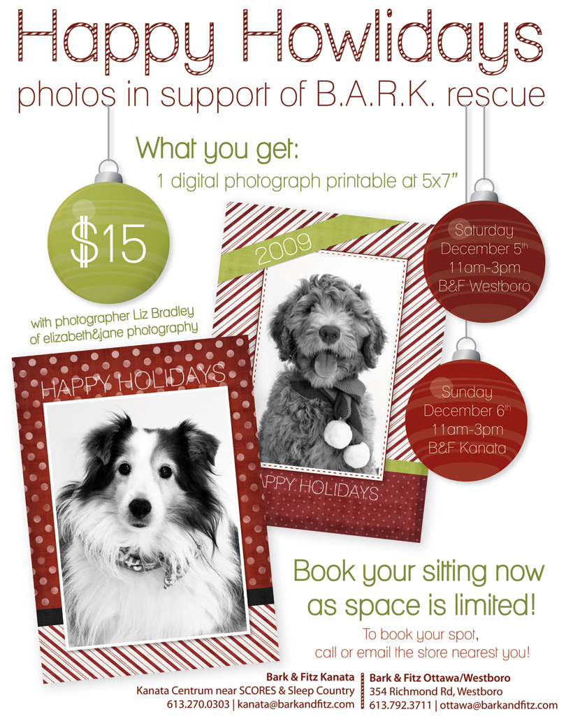 Happy Howlidays Photo Fundraiser