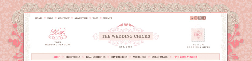 The Wedding Chicks ~ Blog