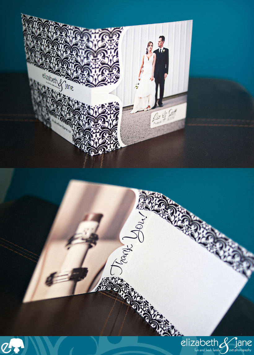 Complimentarty Custom Wedding Thank You Cards - Punctuation