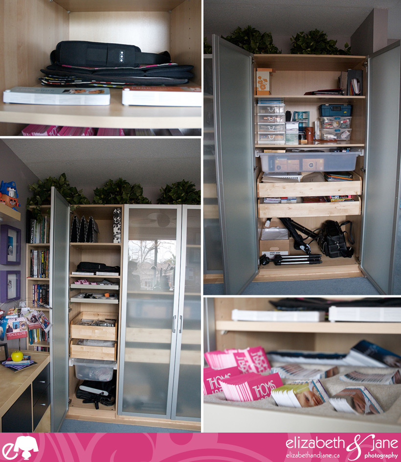 The Office Makeover - Shelves Galore