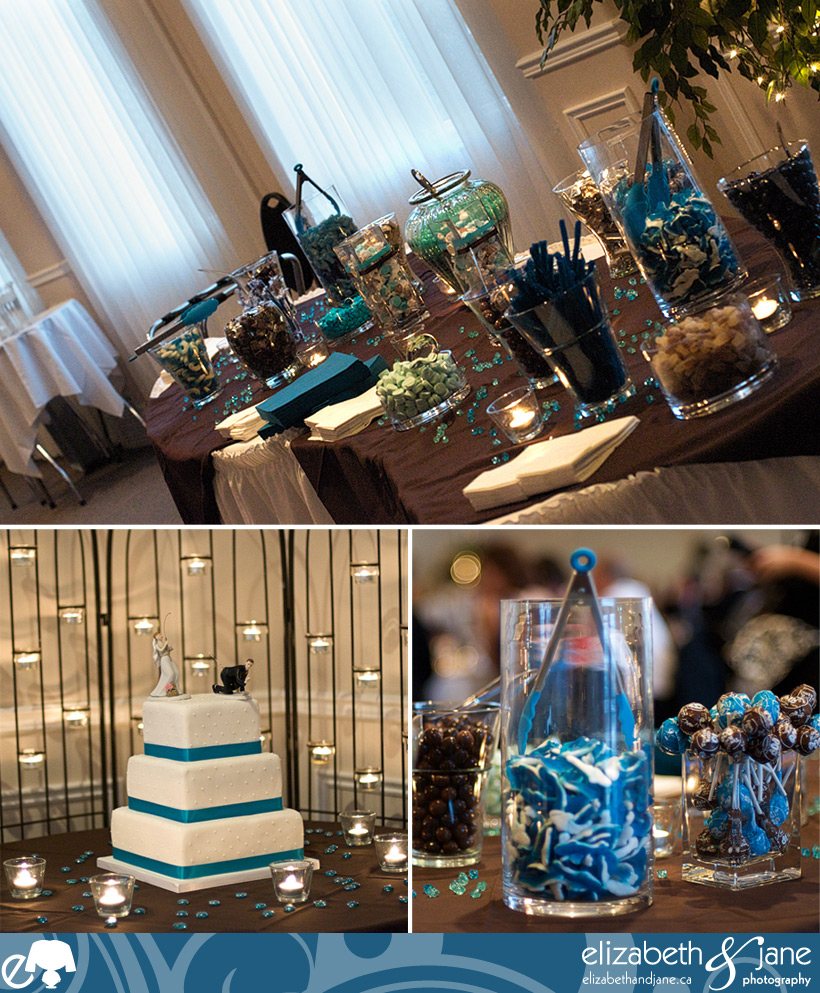 Kelly and Christpher's Wedding - The Candy Bar