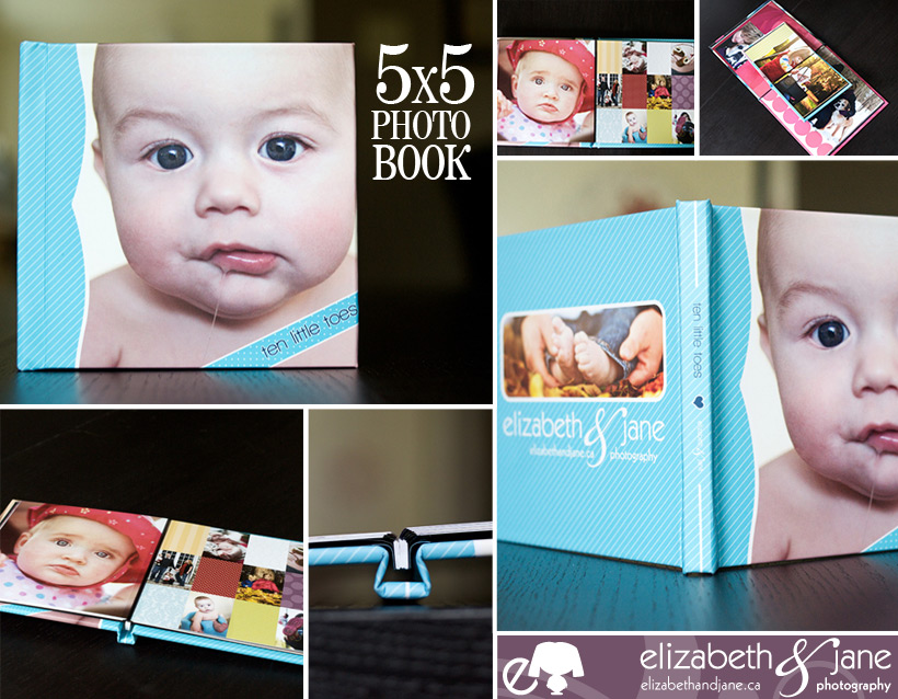 5x5 elizabeth&jane photo book