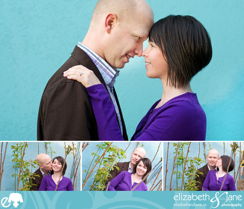 Jennifer and Tyler's Engagement Session in Westboro Village