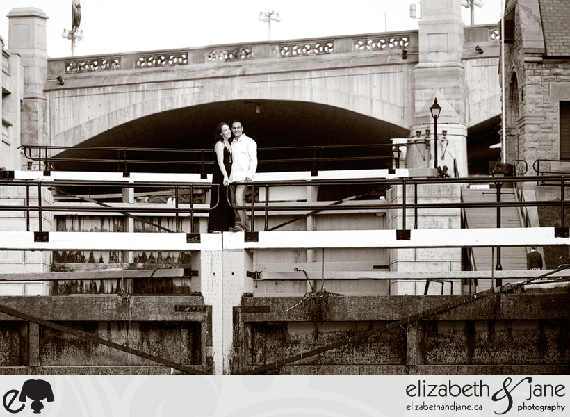 Kirsten and Shadi's Engagement Shoot in Ottawa