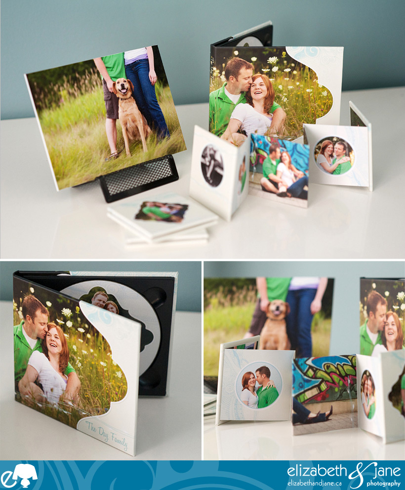 New Accordion Mini Albums featuring Ben and Sarah's photos