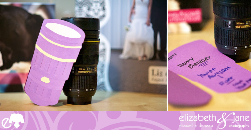 lens mug and handmade card
