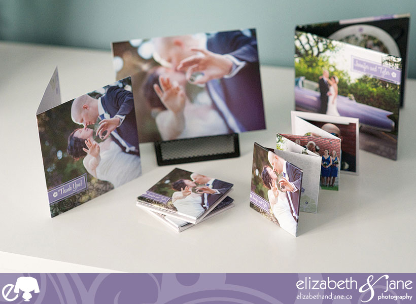 Wedding Products by Liz Bradley of elizabeth&jane photography, books, cards, and DVD case