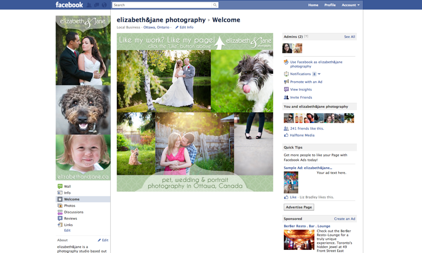 Join elizabeth and jane photography on Facebook