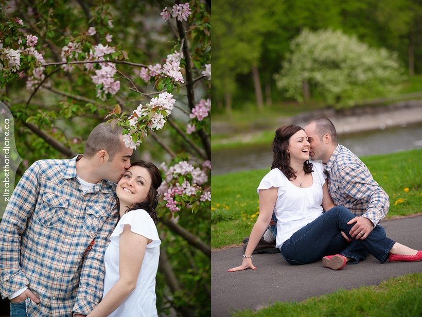 Melissa and Yves Anniversary Session in Ottawa by elizabeht&photography