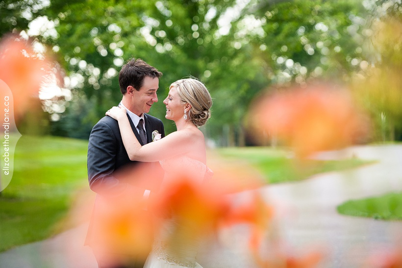 Cass and Aaron's Wedding at the Marshes Golf Club in Ottawa, photographed by Liz Bradley of elizabeth&jane photography https://elizabethandjane.ca/