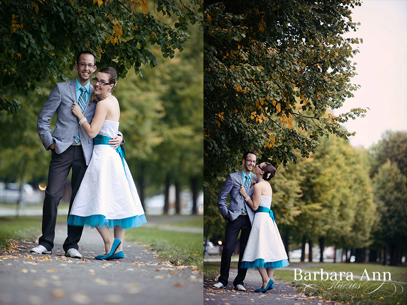 Liz and Thomas photographed by Barbara Ann Studios in Ottawa