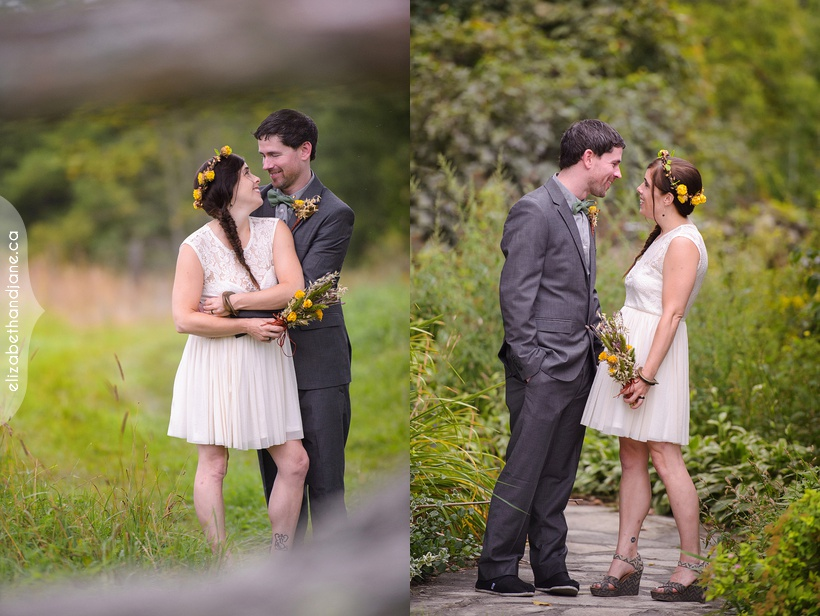 Catherine and Craig's eco-friendly wedding at Stonefields in Ottawa photographed by Liz Bradley of elizabeth&jane photography