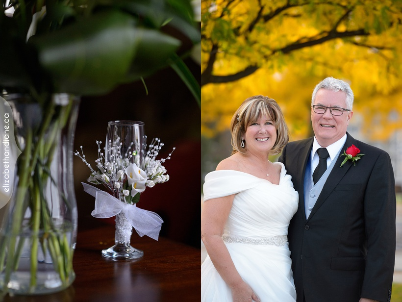Catherine and Larry were married in Ottawa and photographed by Liz Bradley of elizabeth&jane photography