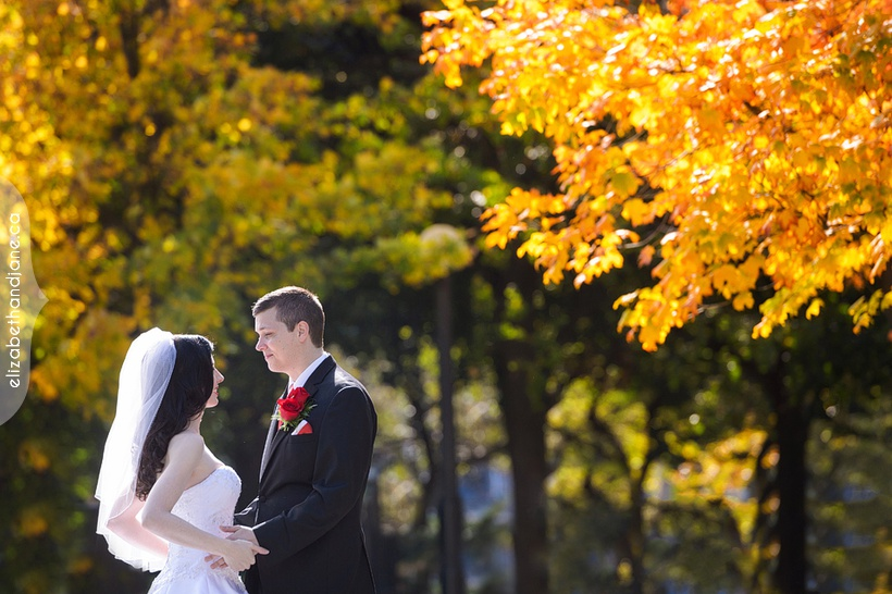 Jenn and Kevin's fall wedding in Ottawa photographed by Liz Bradley of elizabeth&jane photography