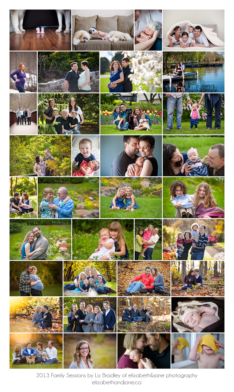 2013 Families photographed by Liz Bradley at elizabeth&jane photography