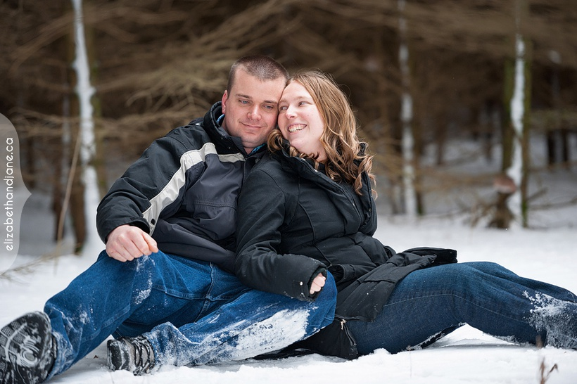 Ottawa engagement photographer Tracy and Trevor photographed by Liz Bradley of elizabeth&jane photography