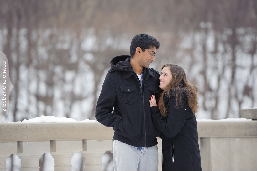 Alison & Ragunath Engagement Photographed in Ottawa by Liz Bradley of elizabeth&jane photography