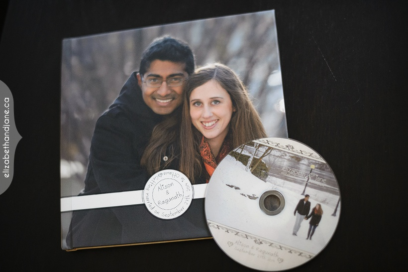 Alison & Ragunath Reception Album Photographed in Ottawa by Liz Bradley of elizabeth&jane photography
