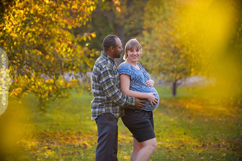 Andrea & Yen Maternity Session photographed in Ottawa by Liz Bradley of elizabeth&jane photography