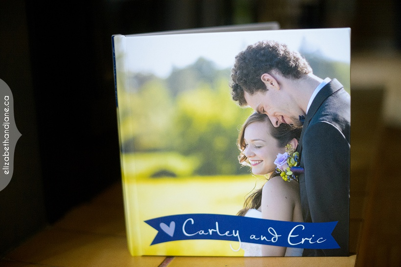 Carley and Eric's wedding products photographed in Ottawa by Liz Bradley of elizabeth&jane photography