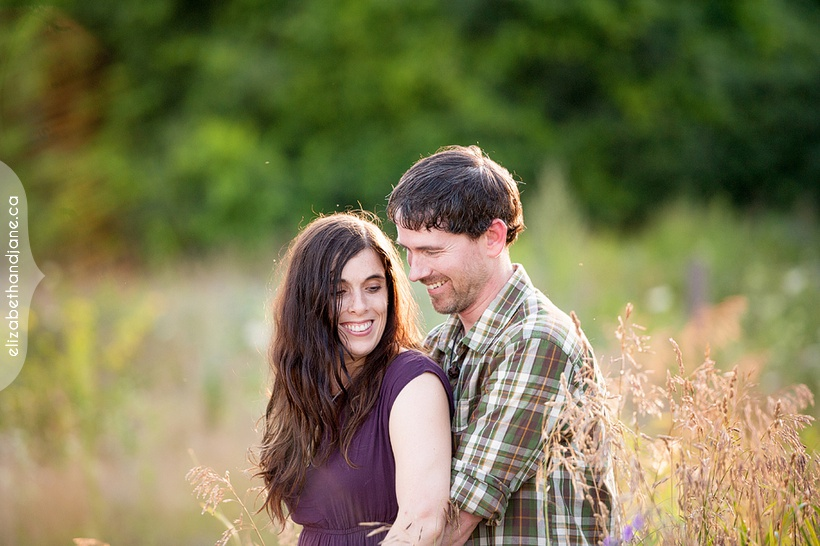 Catherine and Craig's engagement photographed in Ottawa by Liz Bradley of elizabeth&jane photography