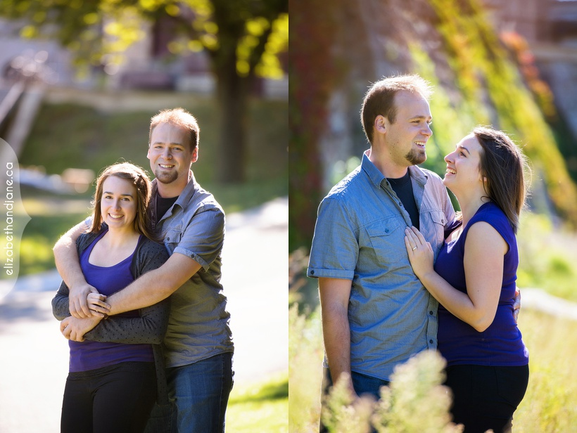 Elizabeth & Peter Engagement photographed in Ottawa by Liz Bradley of elizabeth&jane photography
