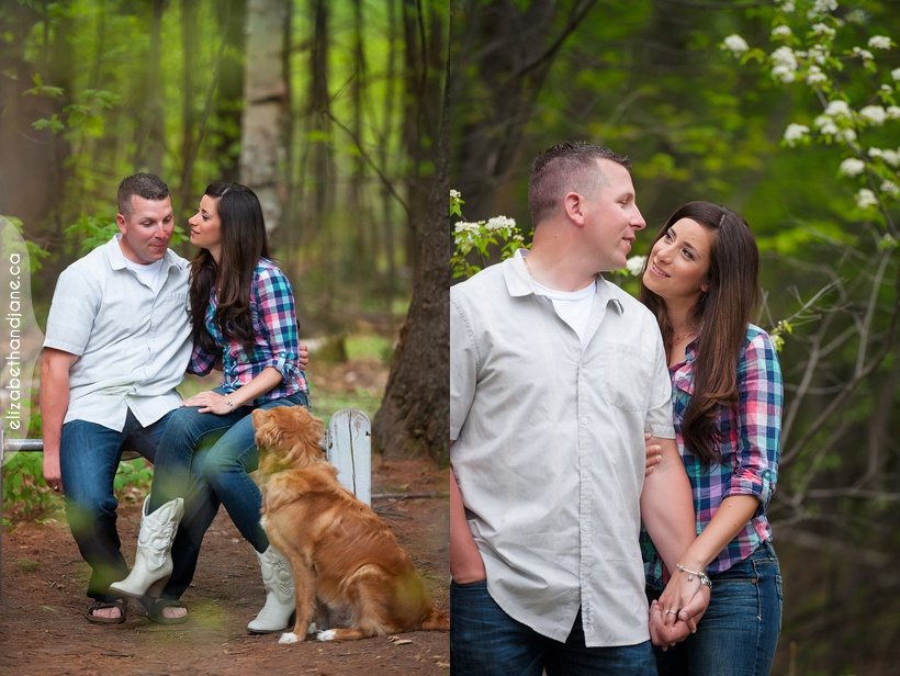 Erika Trevor Engagement in Ottawa photographed by Liz Bradley of elizabeth&jane photography