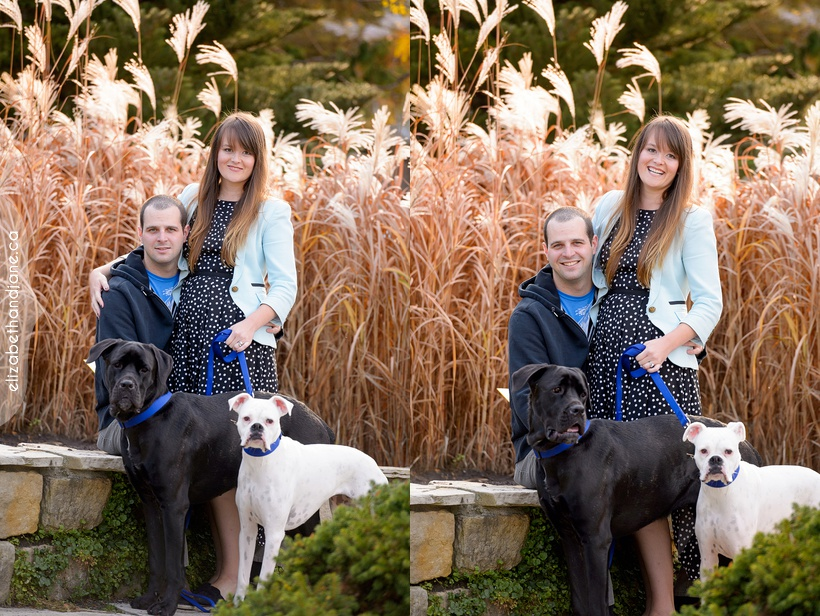 Barbara & Chris & Ava & Lily photographed in Ottawa by Liz Bradley of elizabeth&jane photography