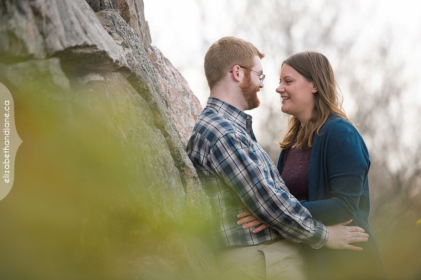 Julia & Derek  Engagement photographed in Ottawa by Liz Bradley of elizabeth&jane photography