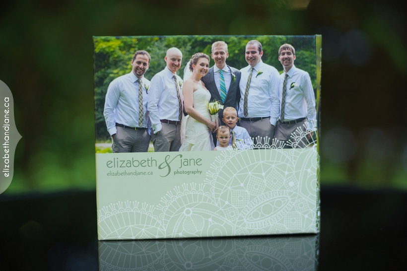 Kate & Chris Wedding Products Photographed by Elizabeth & Jane Photography Ottawa, Ontario