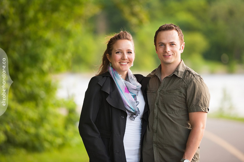 Sarah and Andrew's engagement photographed in Ottawa by Liz Bradley of elizabeth&jane photography