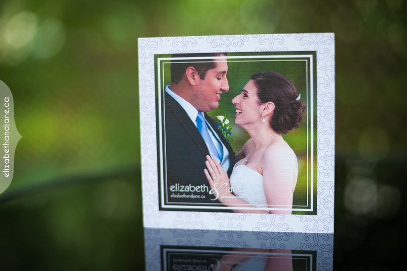 Simone & Steven Wedding Products Photographed by Elizabeth & Jane Photography Ottawa Ontario