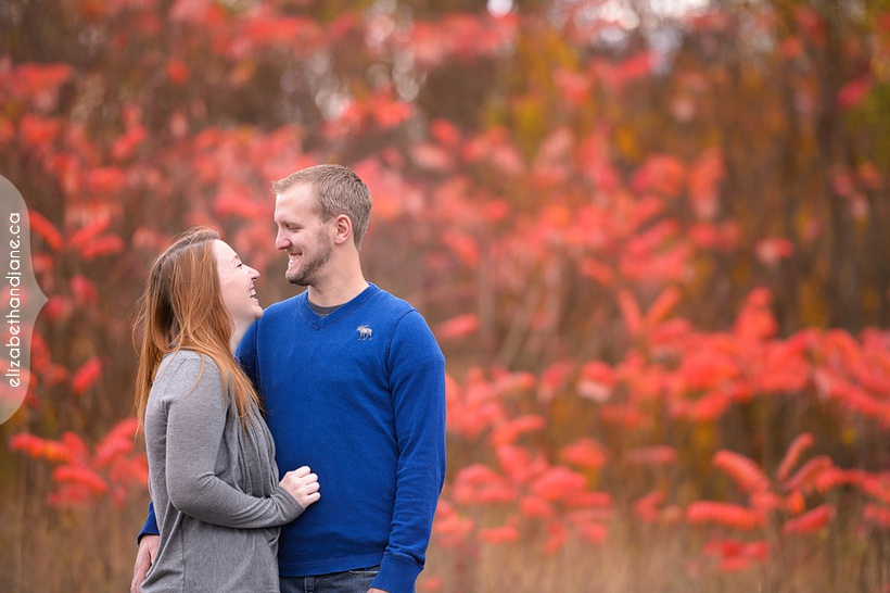 Stephanie & Kyle Engagement photographed in Ottawa by Liz Bradley of elizabeth&jane photography
