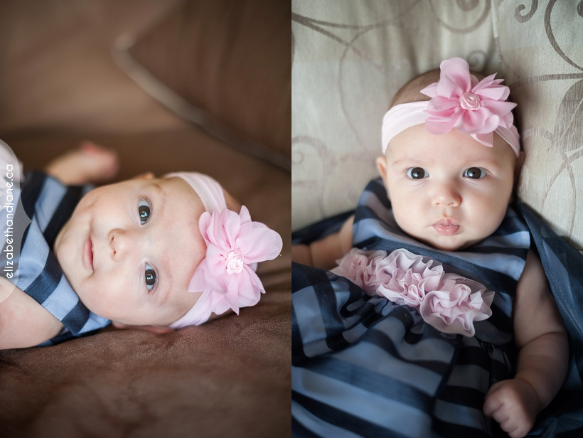 Baby Tegan photographed in Ottawa by Liz Bradley of elizabeth&jane photography