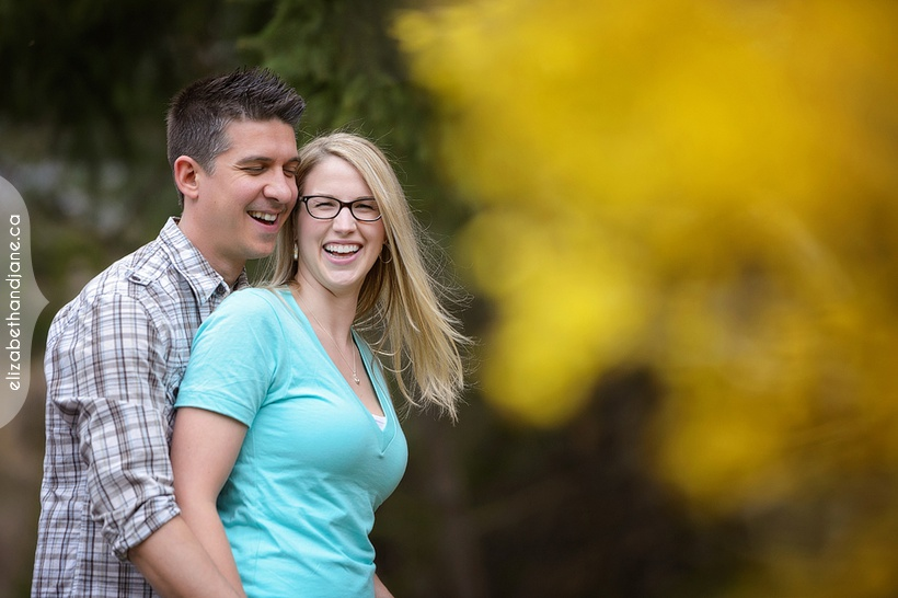Davah and Billy's engagement session photographed in Ottawa by Liz Bradley of elizabeth&jane photography