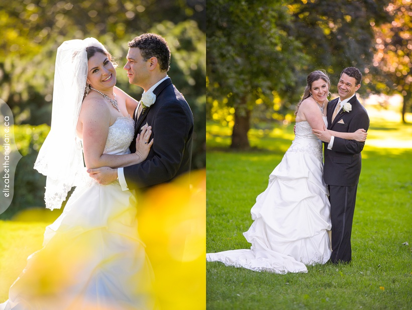 Stephanie and Chris' wedding photographed in Ottawa by Liz Bradley of elizabeth&jane photography