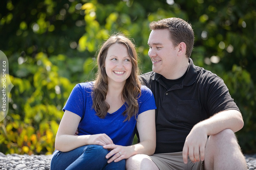 Nikki and Lee's Engagement Session in Prince Edward County by Liz Bradley of elizabeth&jane photography