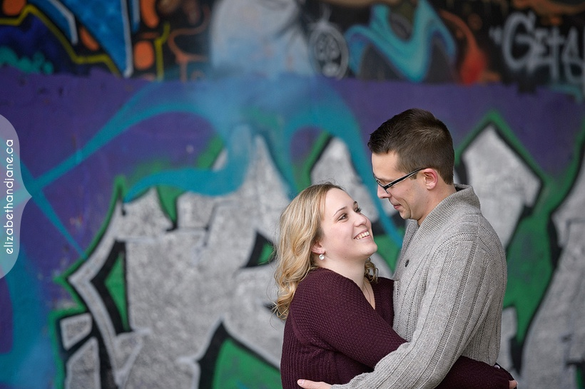 Alyssa and Mathieu's engagement session photographed in Ottawa by Liz Bradley of elizabeth&jane photography