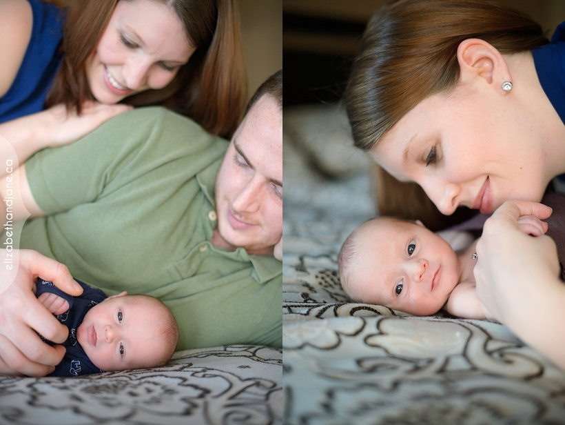 Liam's newborn session photographed in Ottawa by Liz Bradley of elizabeth&jane photography