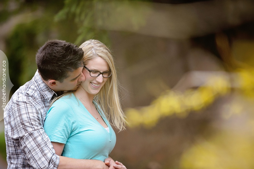 Davah and Billy's engagement in Ottawa by Liz Bradley of elizabeth&jane photography
