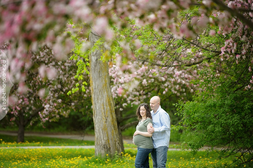 Spring Mini Session with Randy and Rosanna for their maternity session photographed by Liz Bradley of elizabeth&jane photography