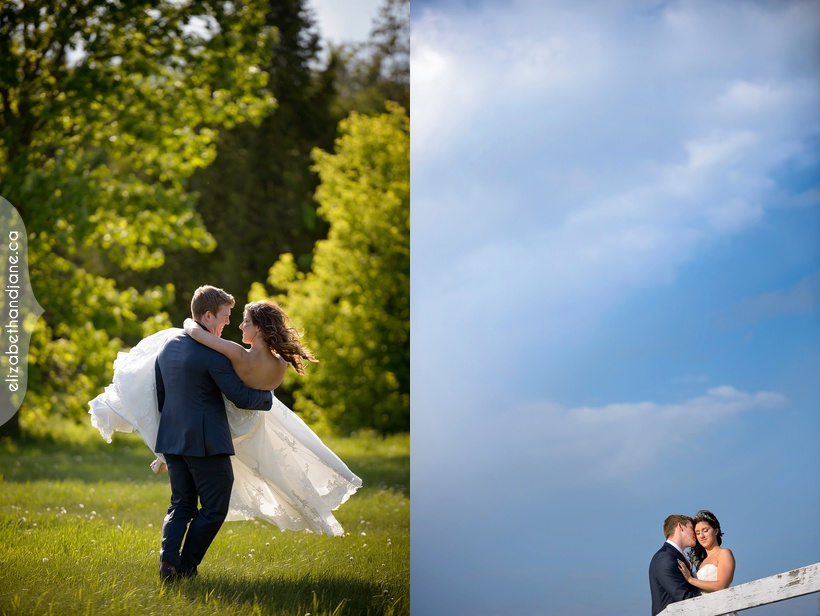 Jacqueline and John were married in Ottawa with their wedding at Orchardview photographed by Liz Bradley of elizabeth&jane photography