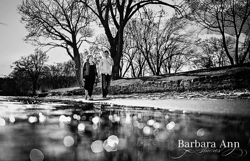 Katie and Chris' engagement session photographed in Brockville by Barb Cameron of Barbara Ann Studios