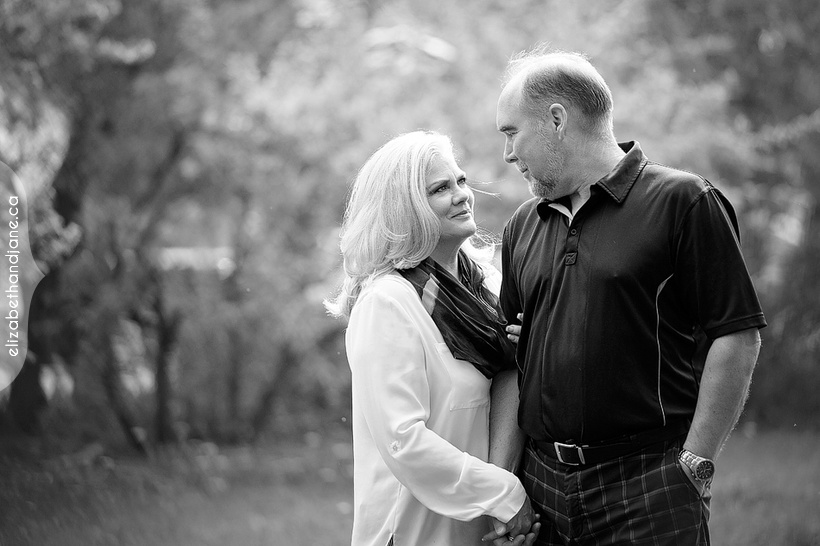Lori and Tom's engagement photographed in Ottawa by Liz Bradley of elizabeth&jane photography