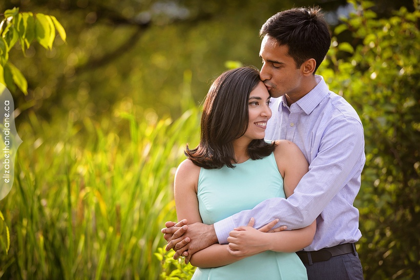 Aparna and Karan's engagement in Ottawa photographed by Liz Bradley of elizabeth&jane photography