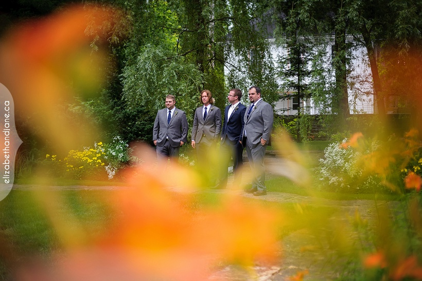 Ashley and Justin's wedding in Perth, Ontario photographed by Liz Bradley of elizabeth&jane photography