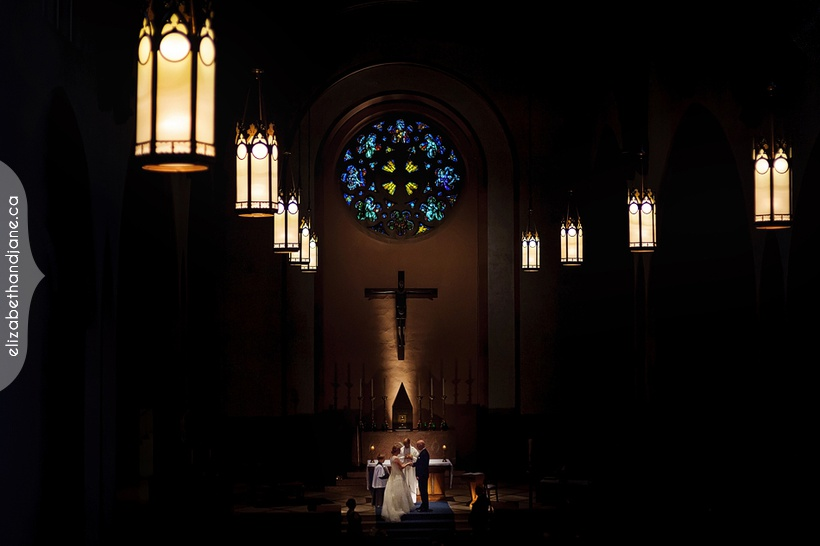 Renee and Matt were married in Ottawa and this wedding shot was photographed by Jane Kerrison of elizabeth&jane photography