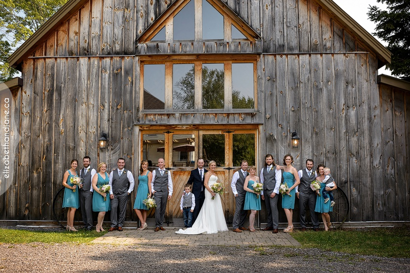 Katie and Chris were married in Prince Edward County and photographed by Liz Bradley of elizabeth&jane photography