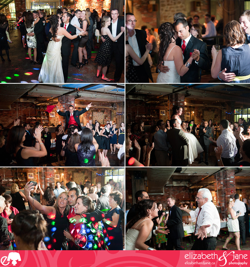 Wedding Photo: dancing at the reception